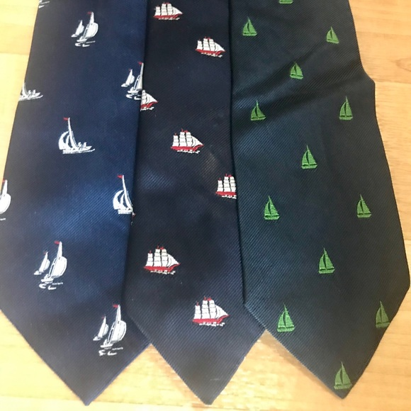 Other - 3 Ties - Sailing